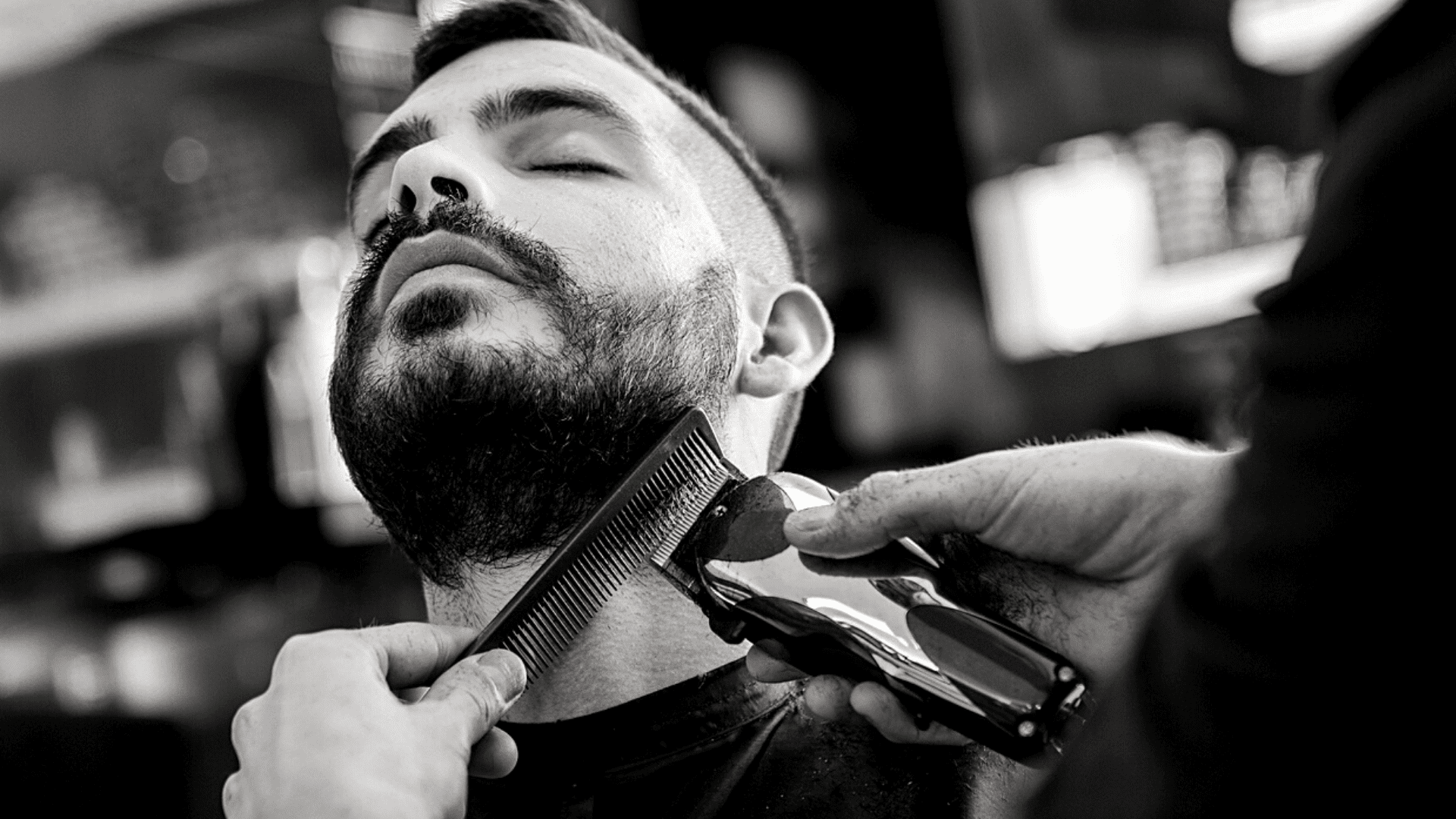 One of our men's grooming tips is to visit your barber every four weeks
