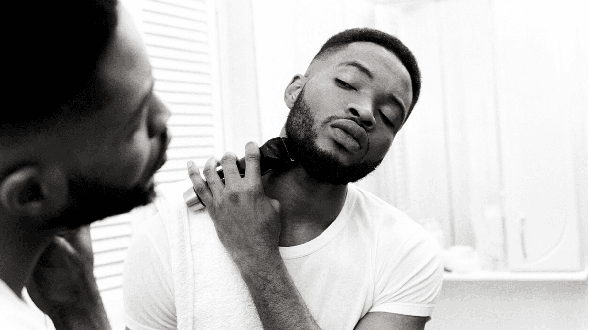 Learn how to style your beard like this man with our guide.