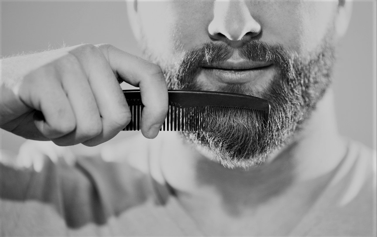 Combing is one of our beard care tips.