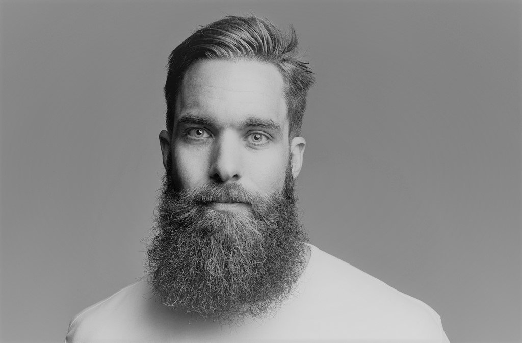 A man with a Viking beard - one of the most popular beard styles this year.