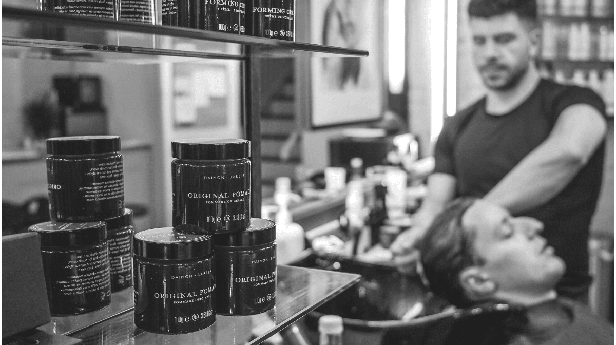 barbers using daimon barber products
