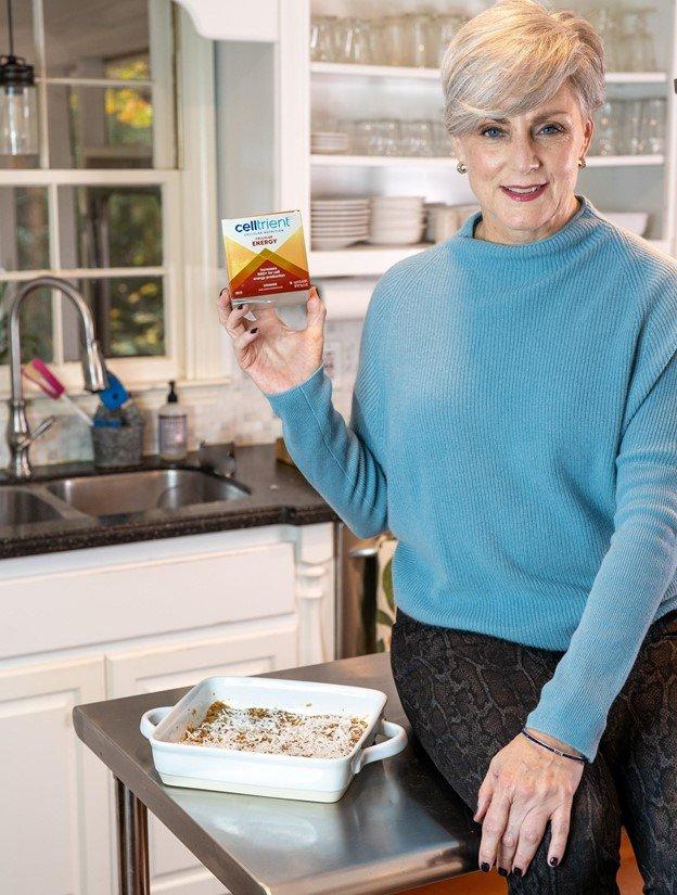 Blogger Beth Djalali with Celltrient Energy