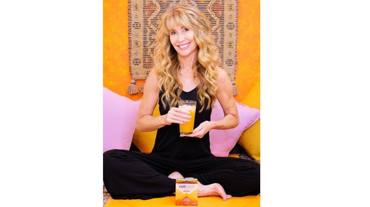 Lorraine Ladish with Celltrient cellular nutrition supplements