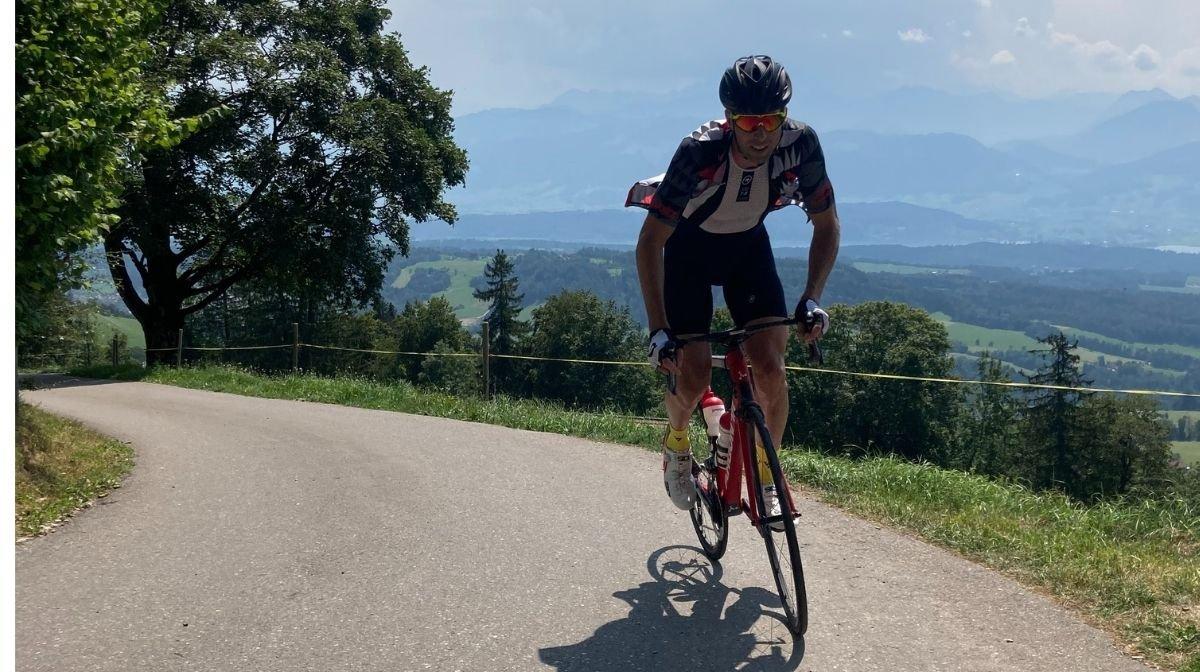Klean Team sponsored athlete cycling