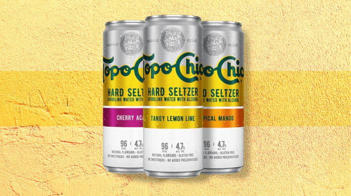 Introducing Topo Chico Hard Seltzer!
