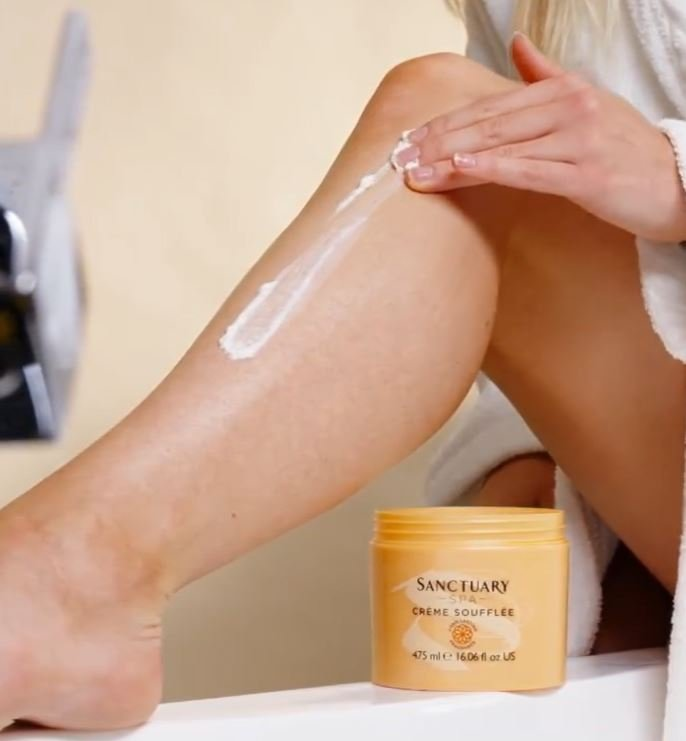 how to apply body butter
