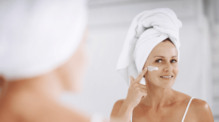 mature skin routine