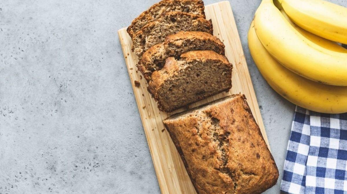 Unkompliziertes, leckeres und proteinreiches Bananenbrot