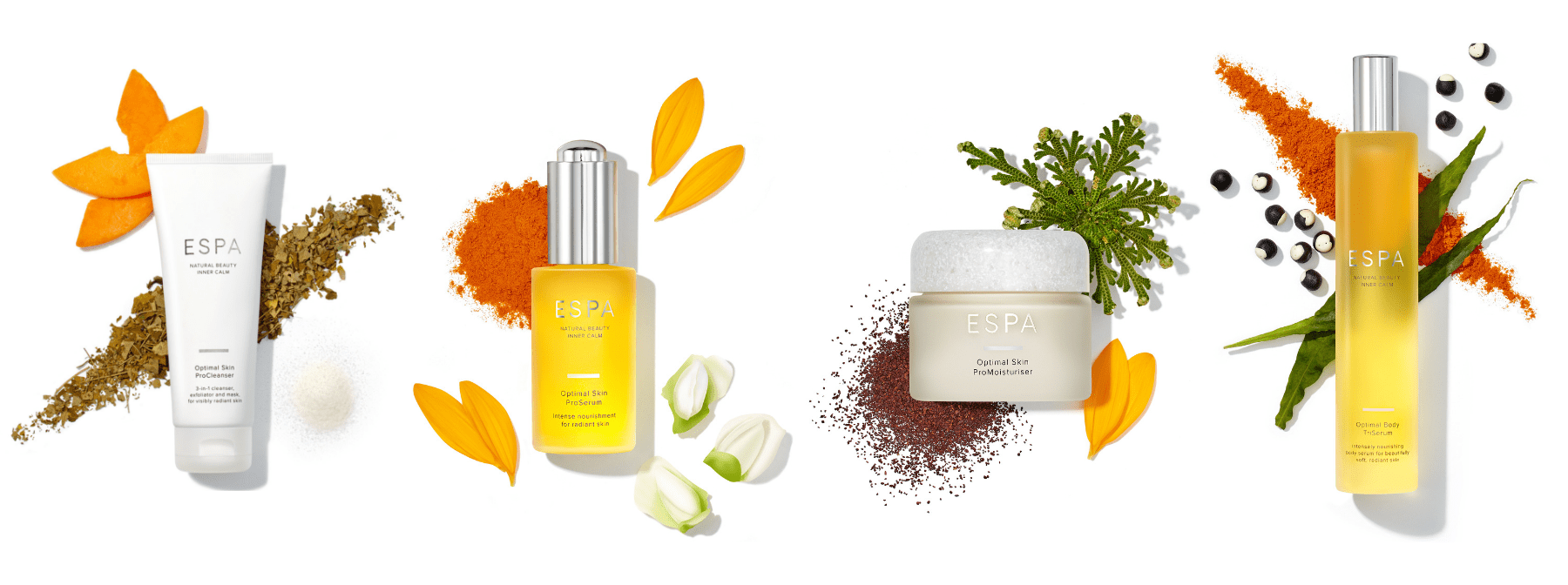 The ingredients behind the Optimal Skin Collection