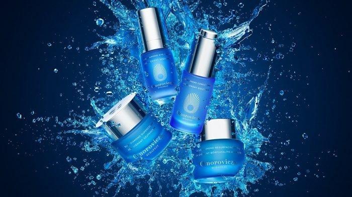 A Kék Gyémánt Kollekció: Új éltre kelti és feszesíti a bőrt, mely visszanyeri természetes ragyogását.