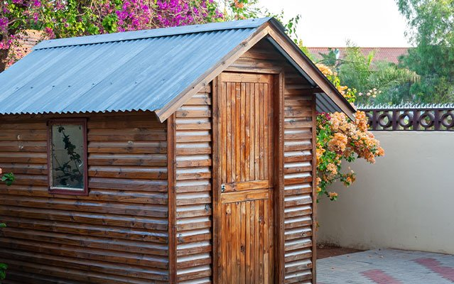 plastic roof tiles for your garden shed