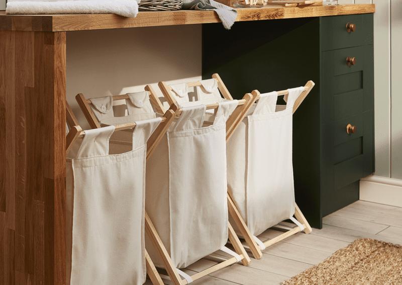 utility room laundry station