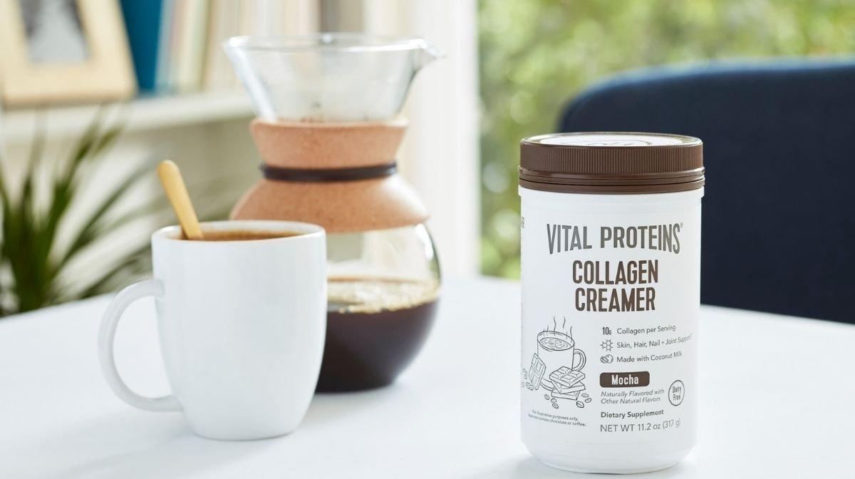 Vital Proteins' collagen coffee creamer
