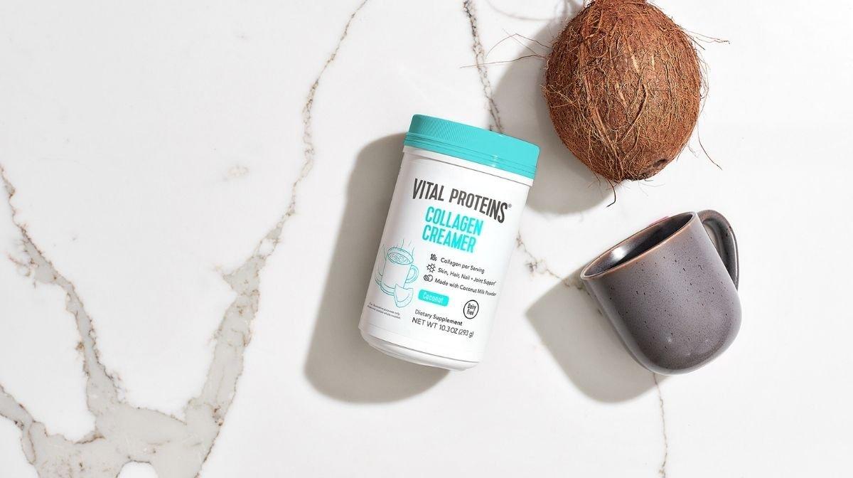 Vital Proteins' Coconut Collagen Creamer