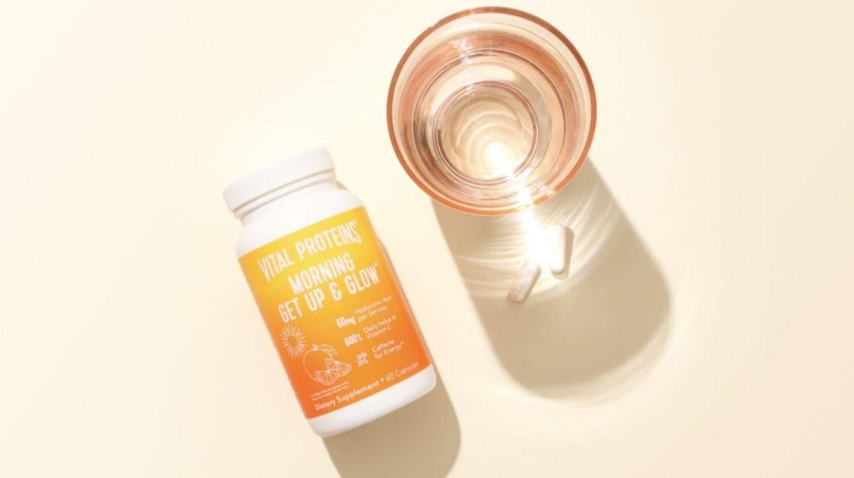 Vital Proteins Morning Get Up & Glow Collagen Powder