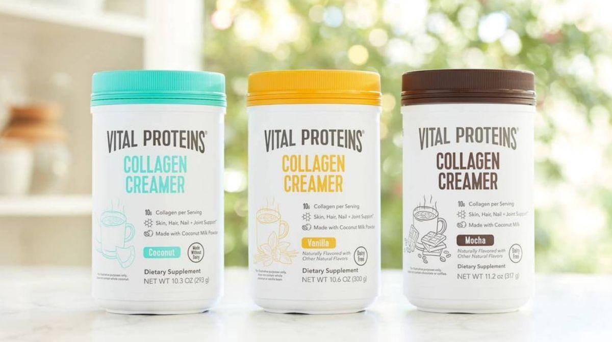 Vital Proteins collagen creamers