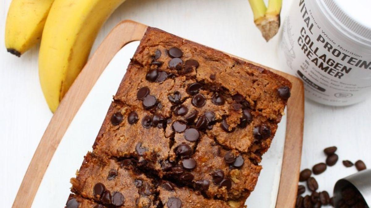 Collagen Recipe: Chocolate Mocha Banana Bread