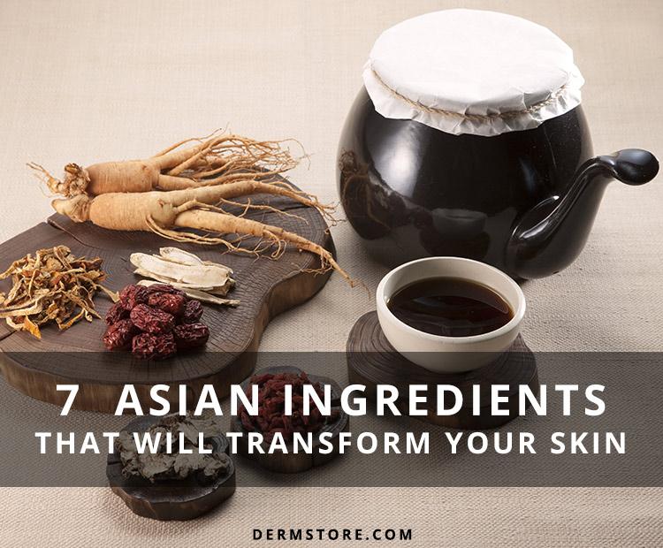 Asian Skin Care Ingredients