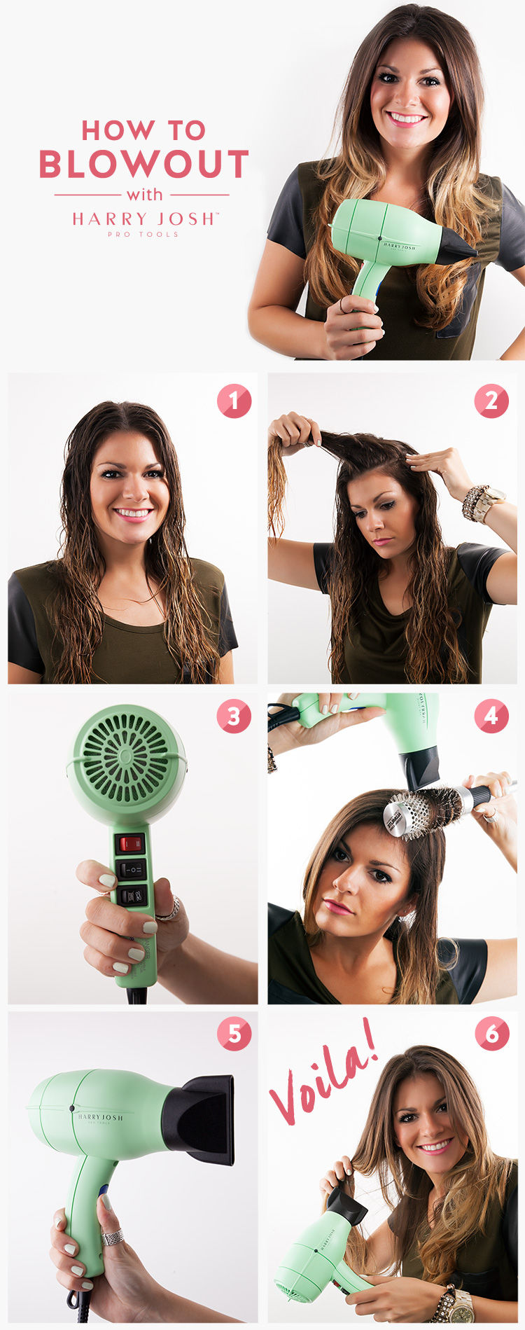 How to Give Yourself a Gorgeous Blowout at Home