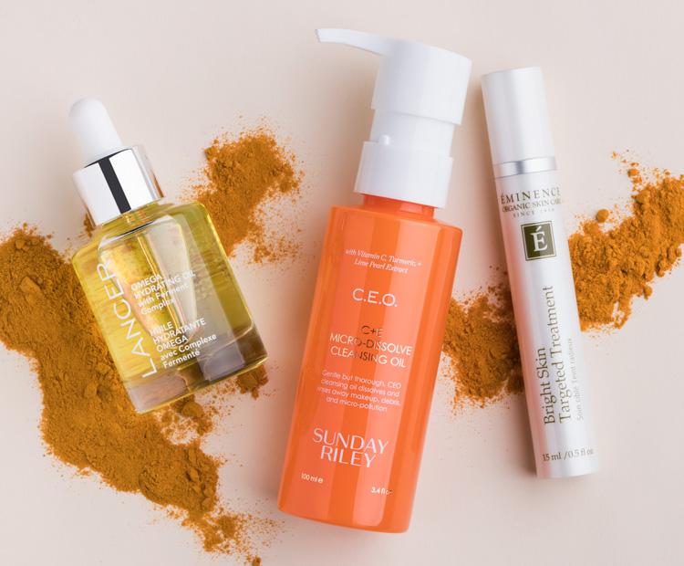 skin care with turmeric