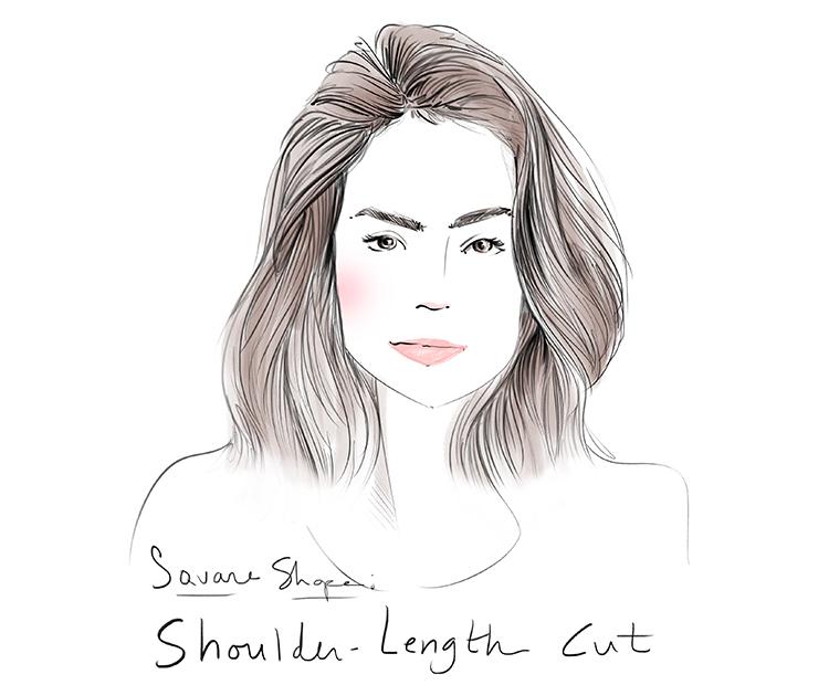shoulder-length-cut I Dermstore Blog
