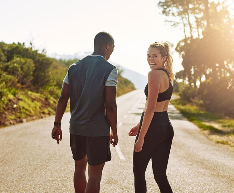 couple exercising together I Dermstore Blog