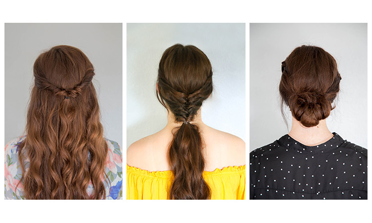 Video Tutorials: 5-Minute Hairstyles for Long Hair