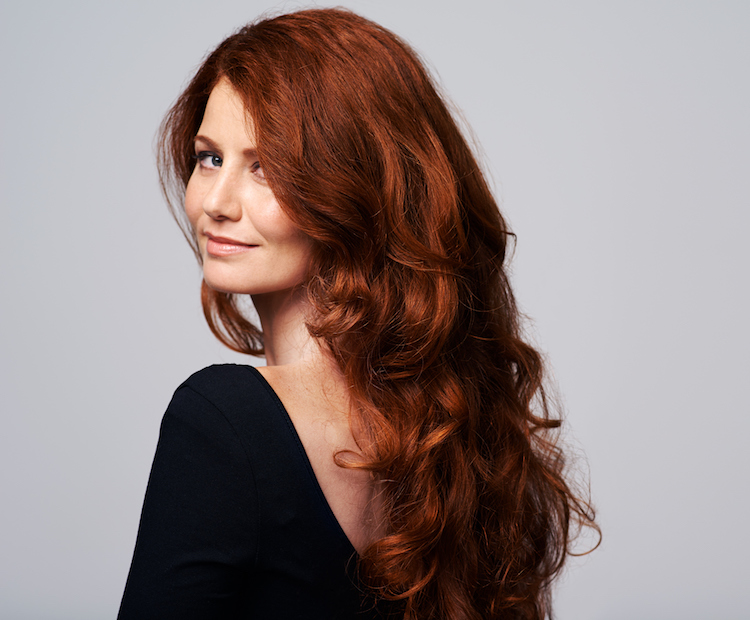 woman with great hair