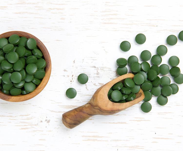 spirulina tablets I Dermstore Blog