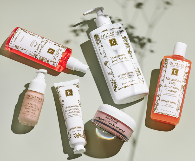 eminence organic skin care mangosteen collection