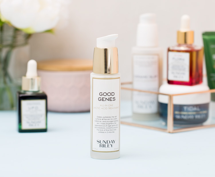 sunday riley good genes and other brand products