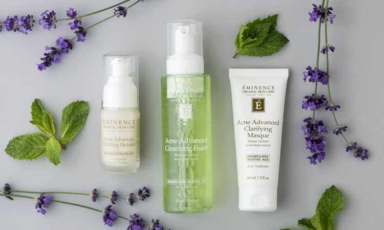 Eminence Organic's New Acne Collection Tackles Breakouts Without the Harsh Side Effects