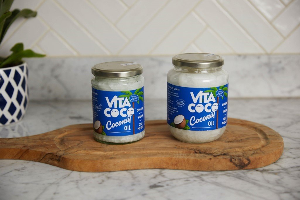 You can use Vita Coco coconut oil for stretch marks