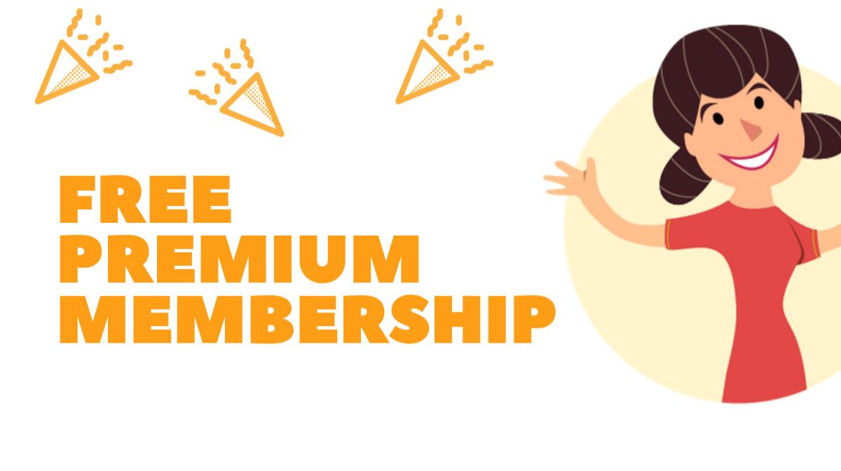 How to claim your FREE Premium Membership