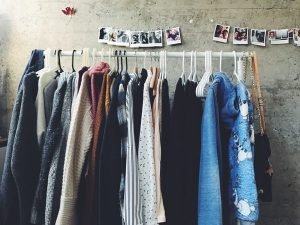 Selling clothes second hand