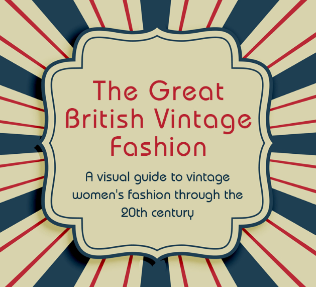 Vintage Women's Fashion throughout the 20th Century
