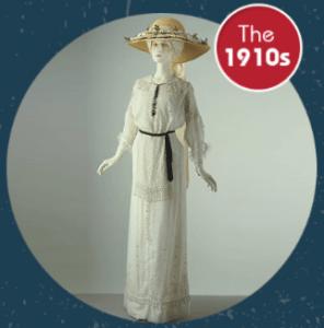 the 1910s vintage fashion