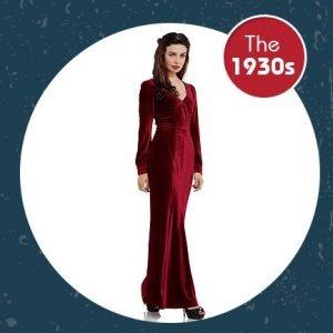 the 1930s vintage fashion