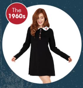 the 1960s vintage fashion