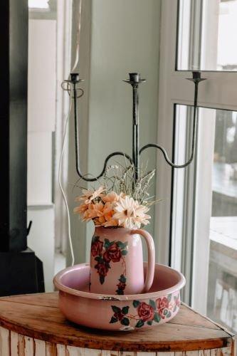 floral crockery