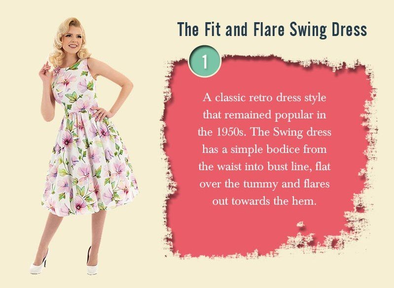 swing dress vintage inspired