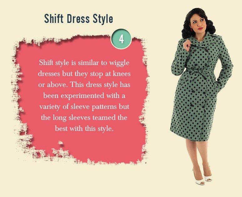 shift dress vintage inspired