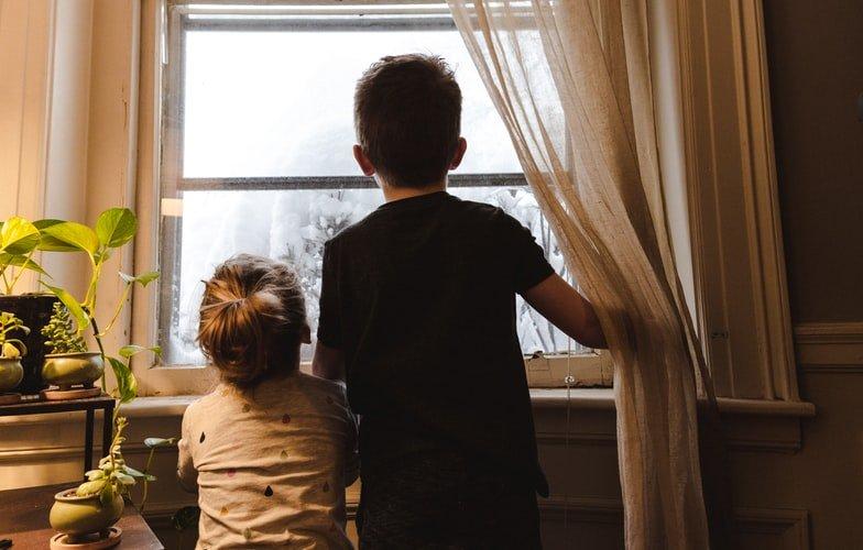 kids during lockdown