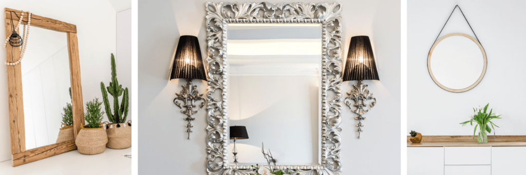 mirrors in small spaces