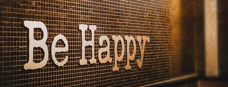 be happy slogan