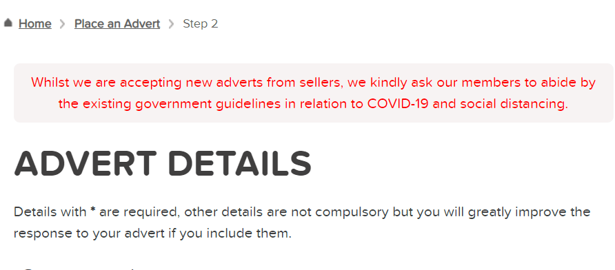 COVID-19 response preloved