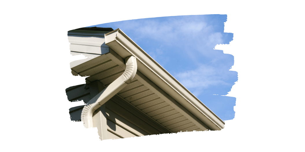 gutters outdoor spaces