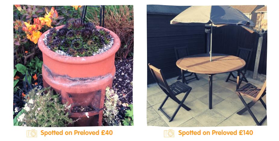 preloved garden furniture