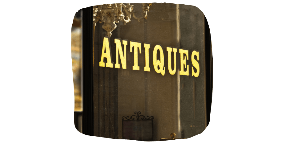 antiques for spare room