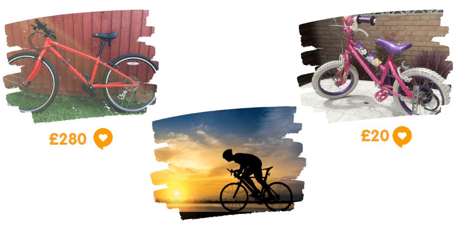 cycling at preloved